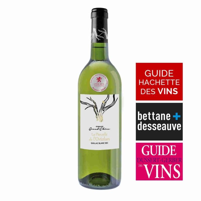 Vin blanc Domaine Grand Chêne Parcelle de l'Ortolan Gaillac 2015 75 cl