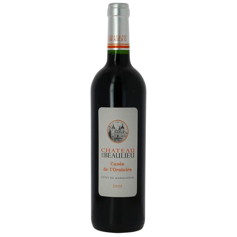 Vin rouge Château de Beaulieu l'Oratoire Côtes du Marmandais 2008 75cl