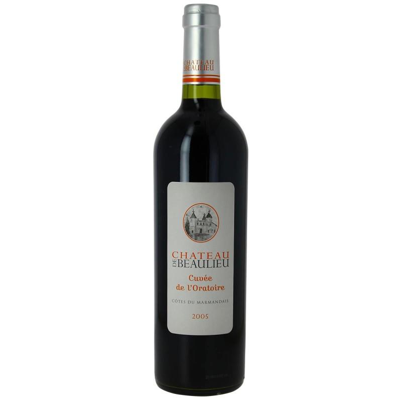 Vin rouge Château de Beaulieu l'Oratoire Côtes du Marmandais 2005 75cl