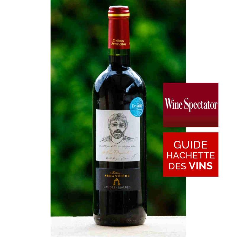 Vin rouge Château Armandière Cahors 2014 75 cl