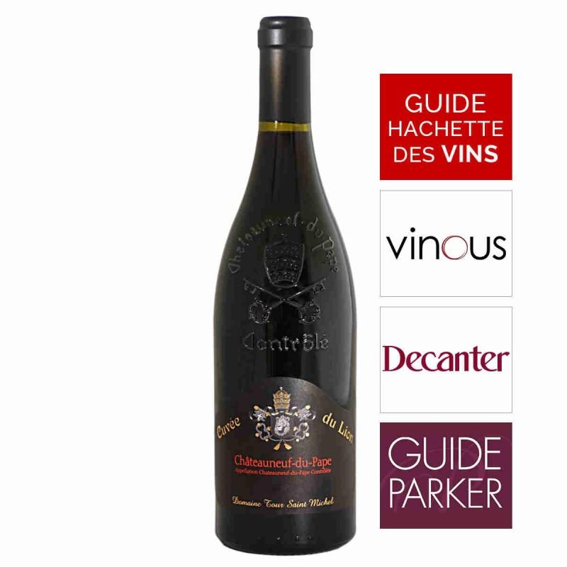Vin rouge Tour Saint Michel cuvée du Lion Châteauneuf-du-Pape 2015