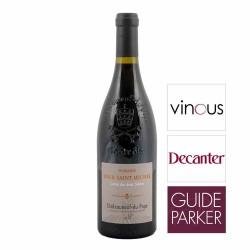 Vin rouge Tour Saint Michel Les deux sœurs Châteauneuf-du-Pape 2015