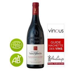 Vin rouge bio Châteauneuf-du-Pape Domaine Saint SIFFREIN 2015
