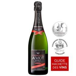 Bouteille champagne Viot et Fils brut sélection