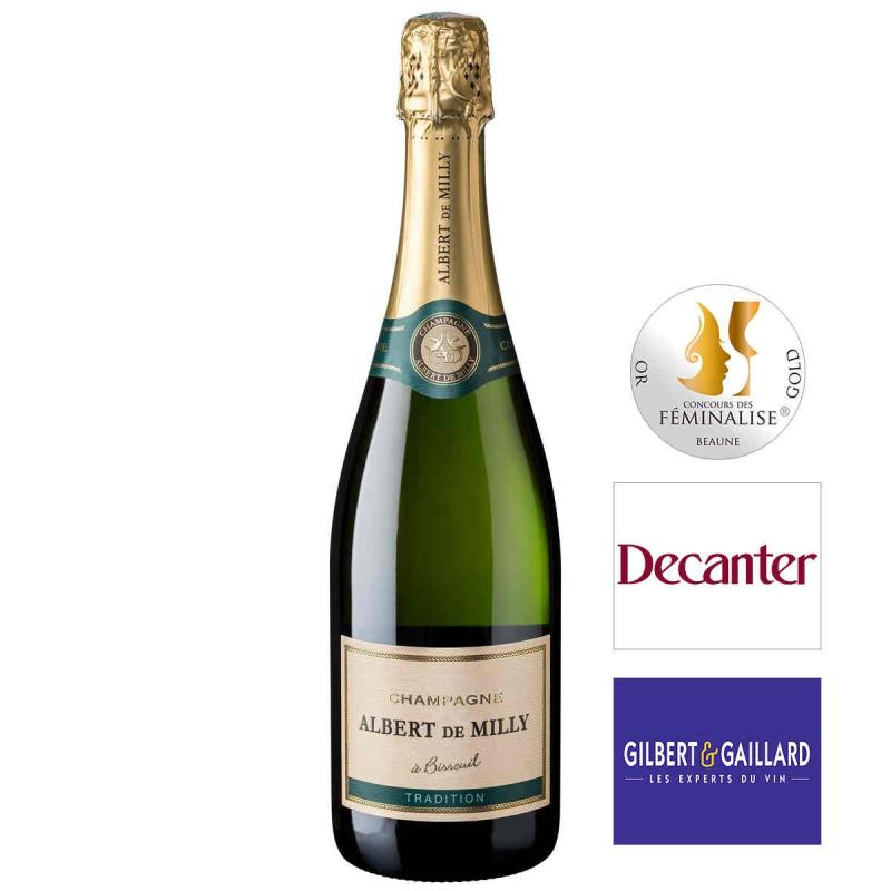 Champagne Albert de MILLY - Champagne Brut Tradition