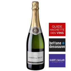 Champagne Albert de MILLY - Brut Prestige Millésime 2009