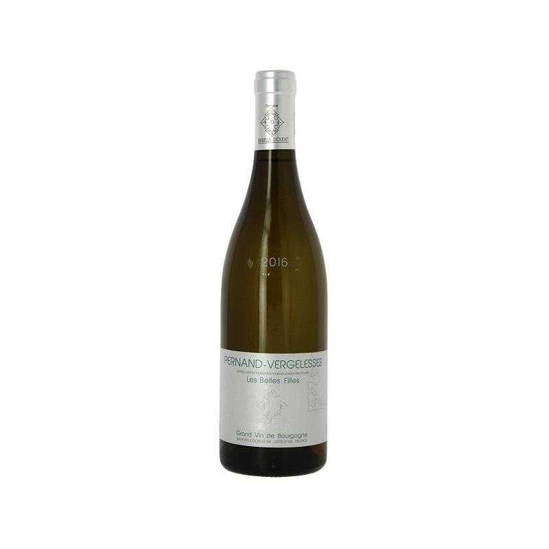 Vente en ligne vin blanc Pernand Vergelesses Isabelle DOUDET cuvée les belles filles millésime 2016
