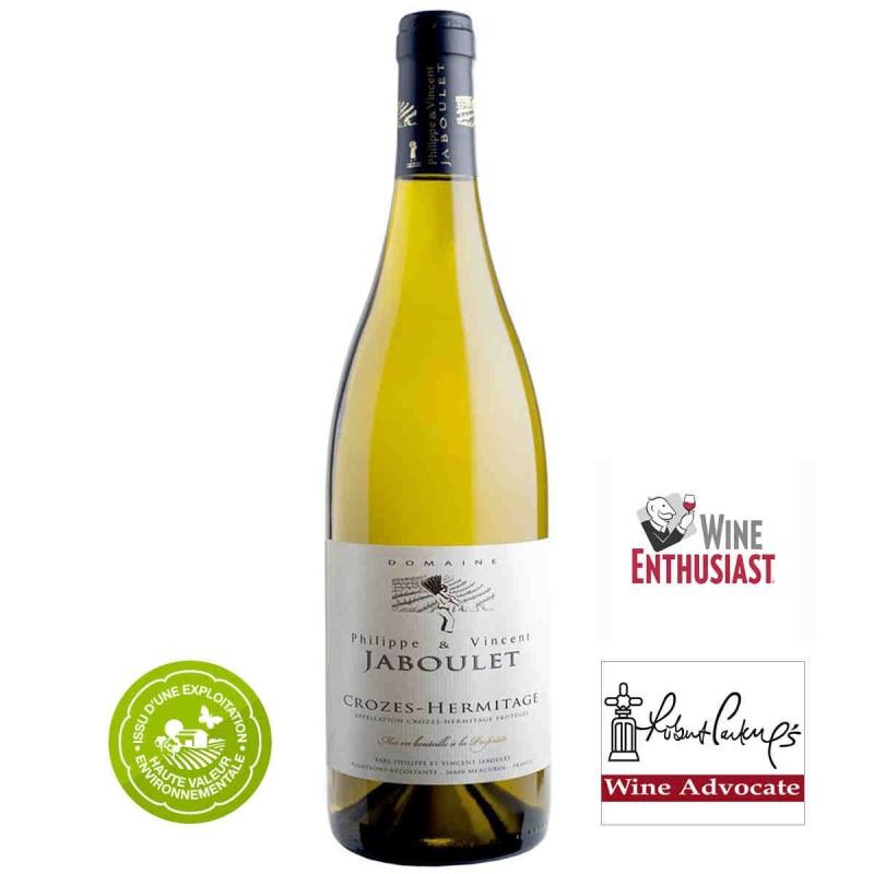 Vente en ligne vin blanc Crozes-Hermitage Philippe et Vincent JABOULET 2017