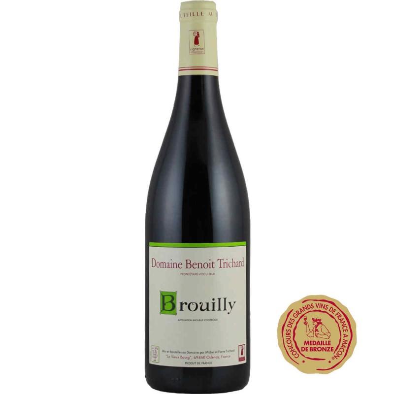 Vente en ligne vin rouge Brouilly Domaine Benoit TRICHARD 2013