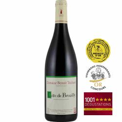Vin rouge Côte de Brouilly Domaine Benoit TRICHARD 2015