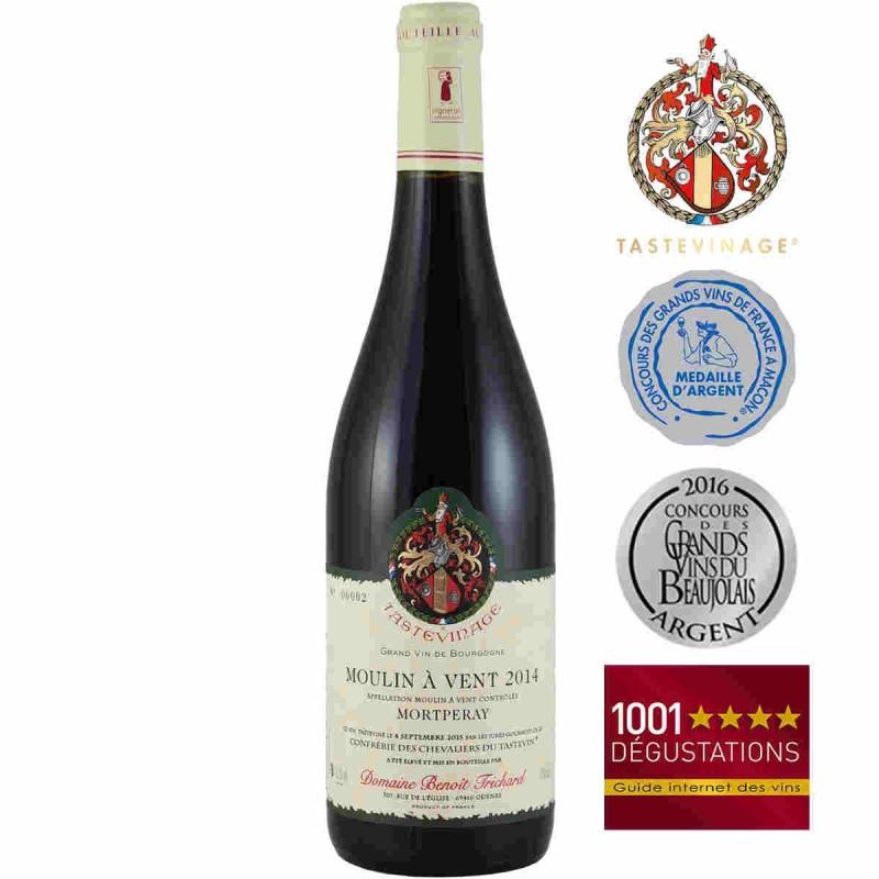 vente en ligne vin rouge Moulin-à-vent Benoit TRICHARD Mortperay 2014
