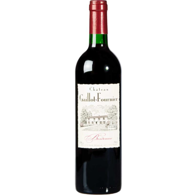 Vente en ligne vin rouge Bordeaux Château GAILLOT-FOURNIER 2016