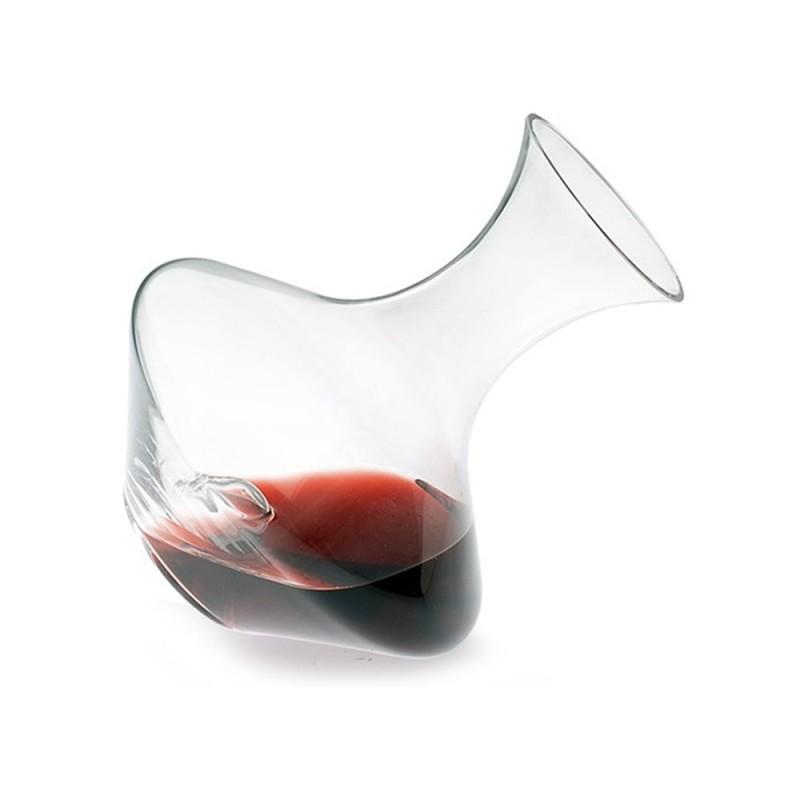 Achat carafe à vin DIAMANTE inclinable bec droit fond creux 1.7 L