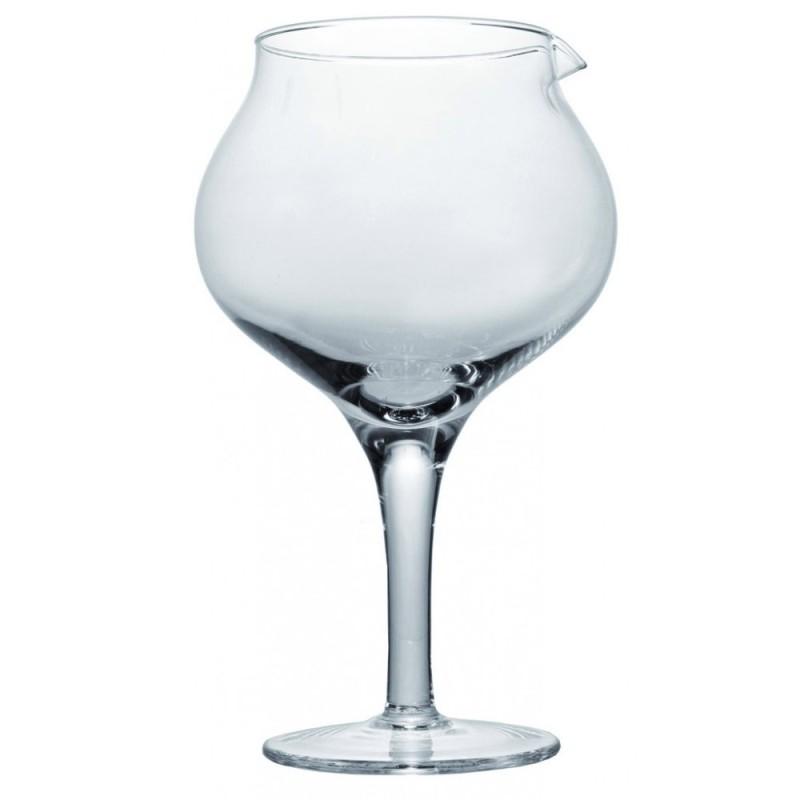 Vente de carafe à décanter en forme de verre
