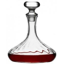 Carafe en verre avec bouchon design vintage 1.5 L