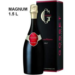 Magnum champagne Gosset grande réserve