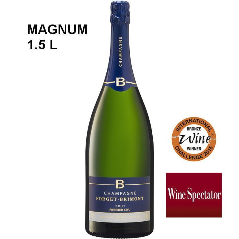 Magnum champagne Forget-Brimont Brut Premier Cru