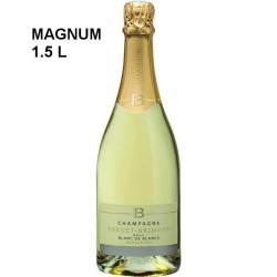Magnum champagne Forget-Brimont 100% Chardonnay 1er Cru