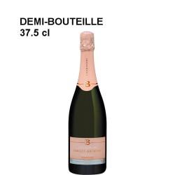 12 demi-bouteilles champagne Forget-Brimont rosé 1er Cru