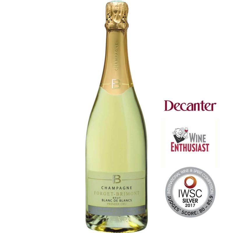 Bouteille champagne Forget-Brimont Blanc de Blancs Premier Cru