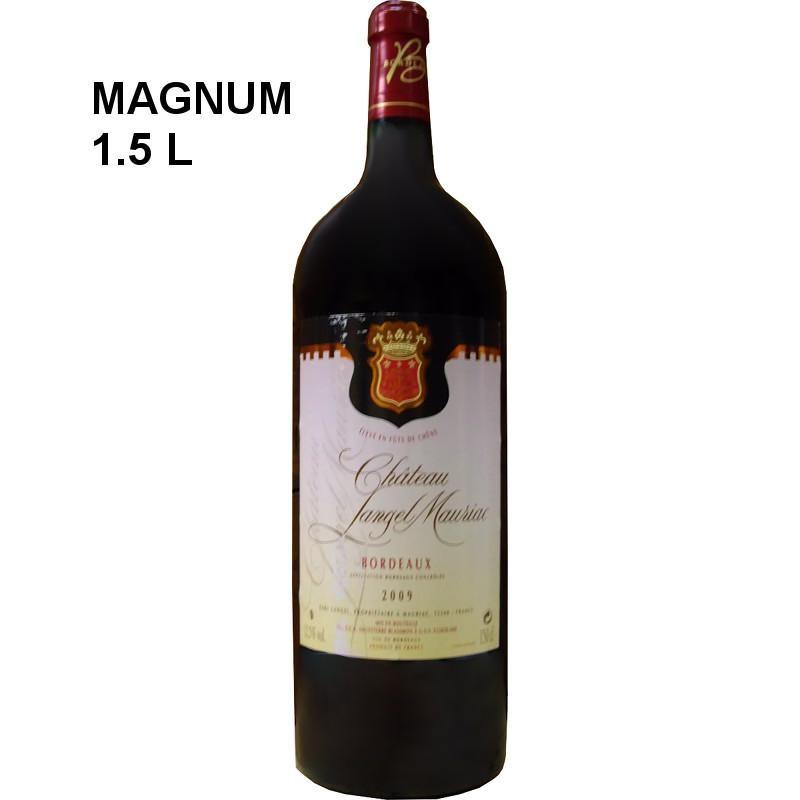 Magnum vin rouge Bordeaux Château Langel Mauriac 2009
