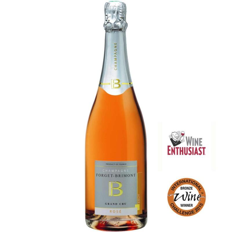 Champagne Forget-Brimont Brut Rosé Grand Cru