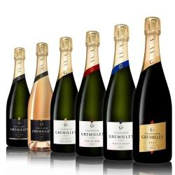 Offre découverte : 6 bouteilles Champagne Gremillet