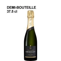 Demi-bouteille champagne Gremillet Sélection