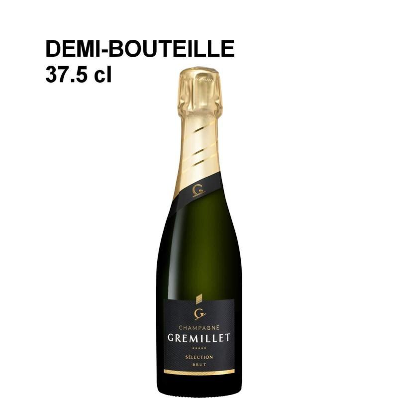 Demi-bouteille de champagne Gremillet brut Sélection