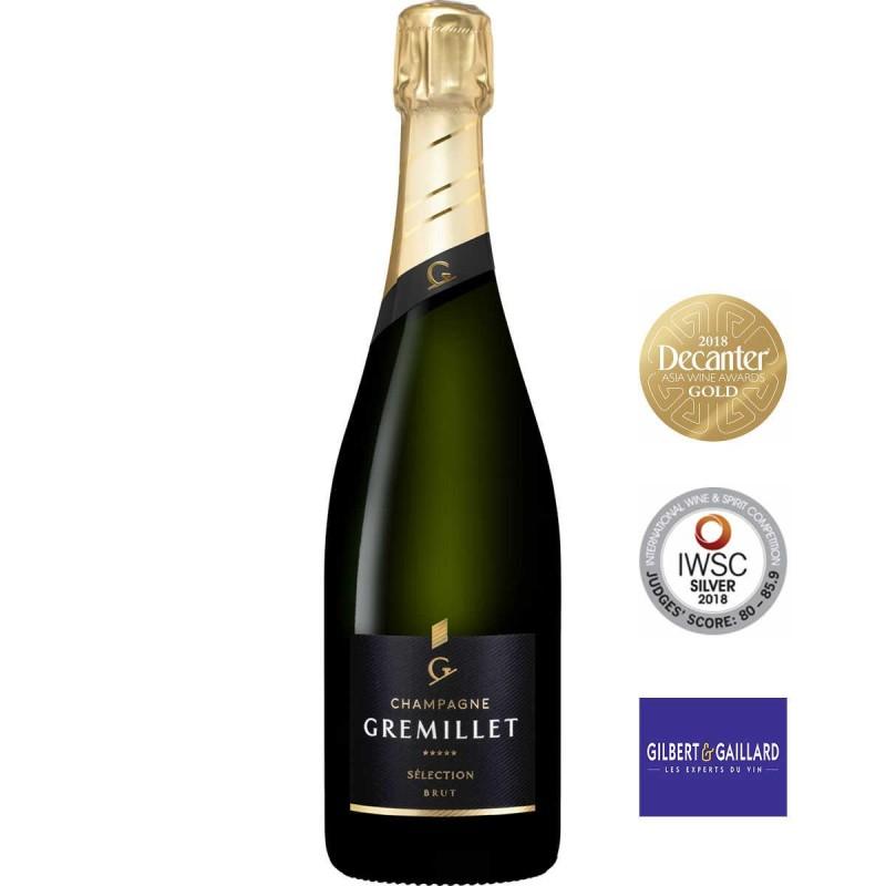 Bouteille champagne Gremillet Brut Sélection
