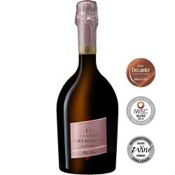 Champagne Gremillet extra-brut Rosé Vrai