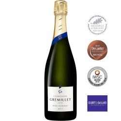 Bouteille champagne Gremillet brut Blanc de Blancs 100% chardonnay