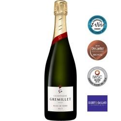bouteille champagne Gremillet Blanc de Noirs 100% pinot