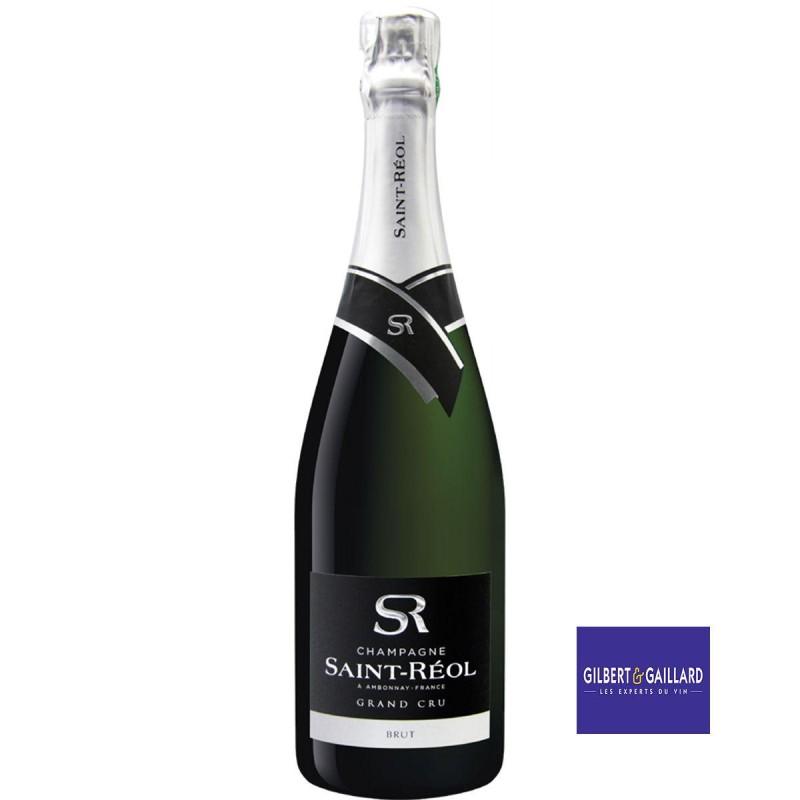 bouteille champagne Saint-Réol brut Grand Cru