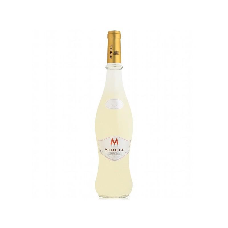 Vin blanc Côtes de Provence Cru Classé M de Minuty 2014