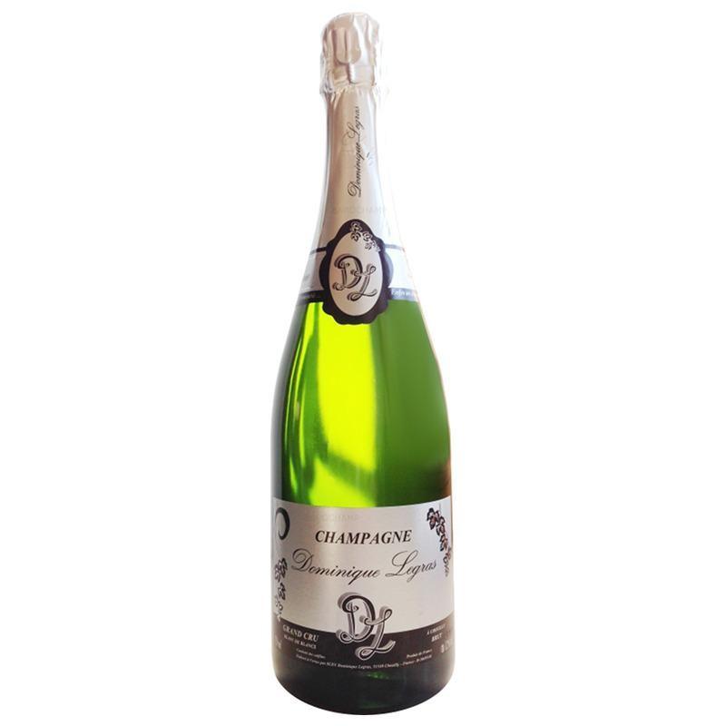 Champagne Dominique LEGRAS Grand Cru blanc de blancs