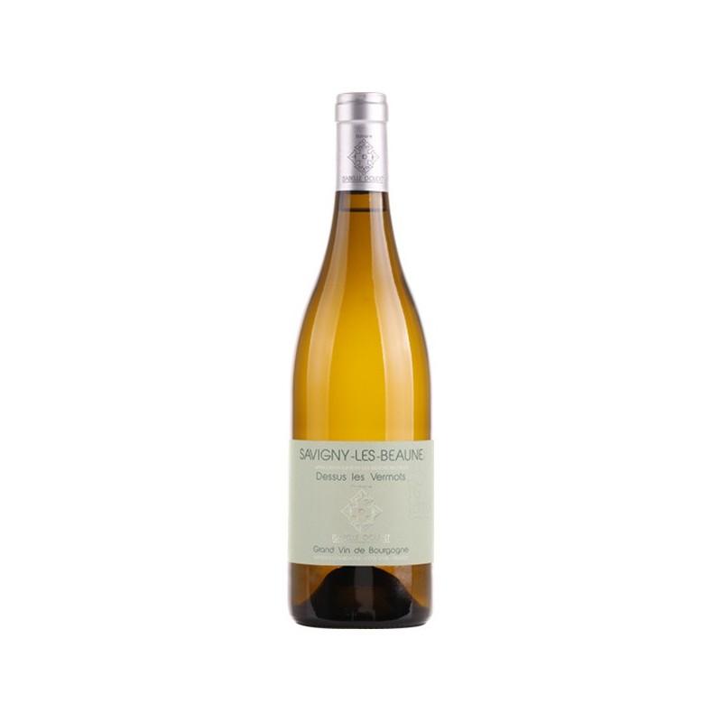 Bouteille vin blanc Savigny-lès-Beaune Isabelle DOUDET cuvée Dessus les Vermots millésime 2017